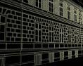 tervezett Izabella utcai homlokzat